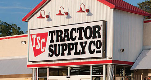 Tractor Supply Company retail store