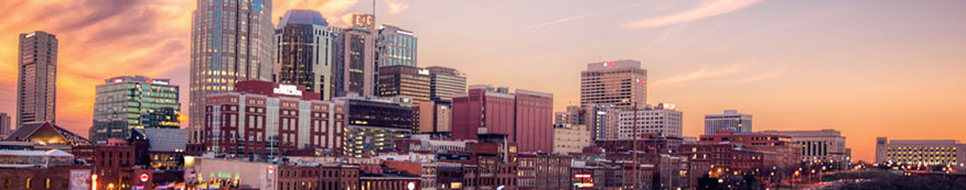 Nashville, TN skyline