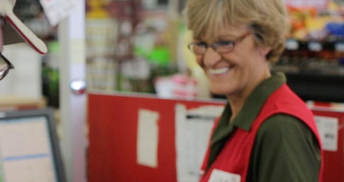 TSC Team Member Helps Customer at a Tractor Supply Company store